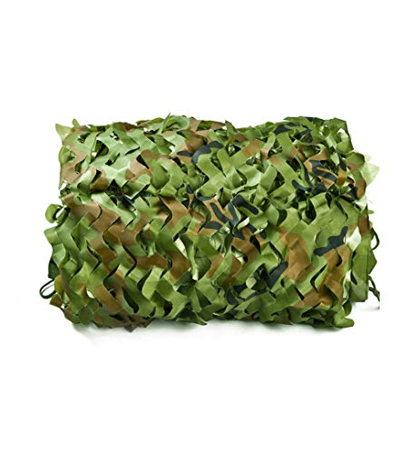 Camouflage net for Decor Courtyard Sunshade Photo Camp Fish Farm Factory Shelter Car Concealment Party Exhibit Backdrop Paintball Curtain Ceiling Fence Canopy Cover-Camouflage net 2x8m(6.5x26ft)