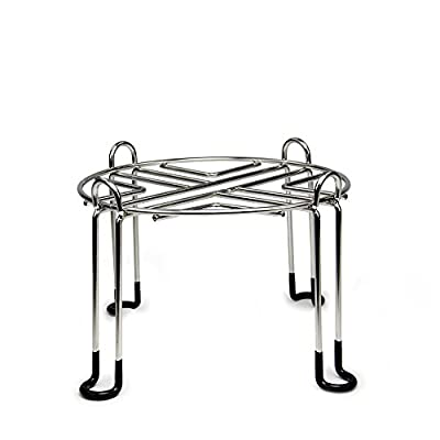 Berkey Stainless Steel Wire Stand with Rubberized Non-skid Feet for Gravity Fed Water Filter - 4 Sizes