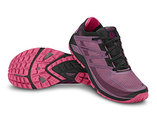Topo Athletic Runventure 2 Chaussures de course - Femme Framboise/Noir 6