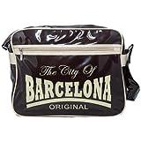 Robin Ruth Bolso Barcelona Retro bolsa vintage de viaje Tote de hombro. Bolso de colección Edición...