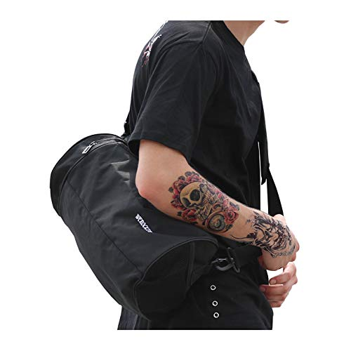Sports Gym Bag Workout Lightweight Duffel Bags for Men and Women Black Small
