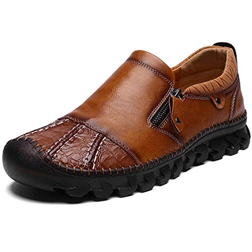 Maizun Shoes for Men Driving Leather