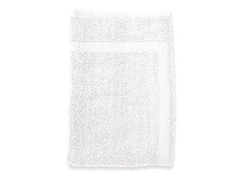 Soleil d'ocre 477100 Douceur Tapis de Bain Coton Blanc 50 x 80 cm