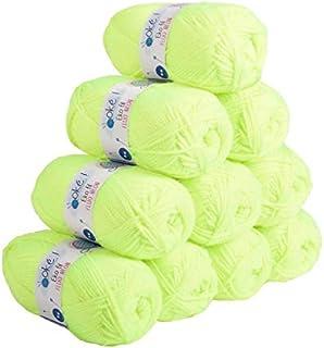 Laines Oké, EKOFIL - Lot 10 pelotes de laine 50g - 100% acrylique. Une pelote de laine classique idéale pour la création d...