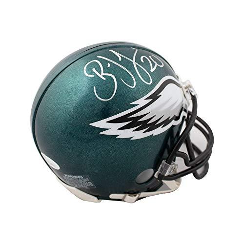 Brian Dawkins Autographed Philadelphia Eagles Mini Football Helmet - JSA COA