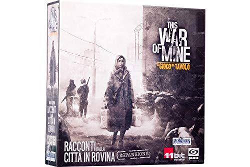 Asmodee- This War of Mine espansione Racconti dalla Città in Rovina Gioco da Tavolo in Italiano Pendragon Games Studio, Colore, 0497