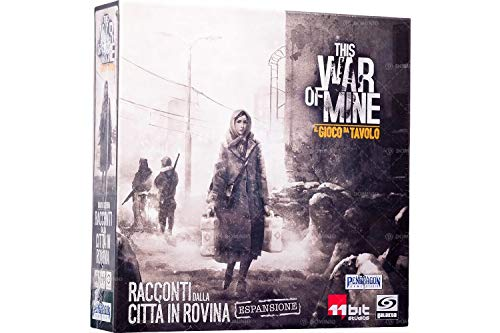 Asmodee Italia- This War of Mine uitbreiding Racconti uit de Città in Rovina spel tafel in Italiaans Pendragon Games Studio, Colore, 0497