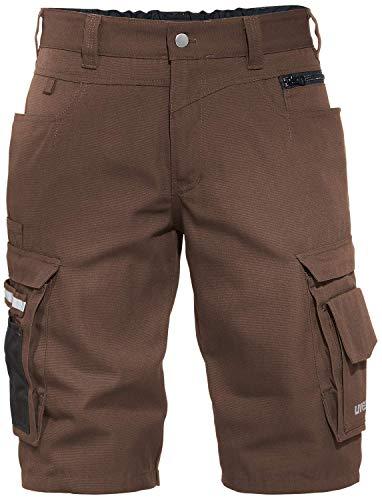 Uvex Perfexxion Premium 3854 Kurze Herren-Arbeitshose - Braune Männer-Shorts 50