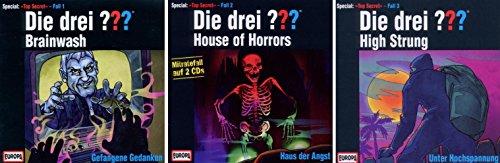 Die Drei ??? (Fragezeichen) - Special: Top Secret Fälle / CD 1+2+3 im Set - Deutsche Originalware [4 CDs]