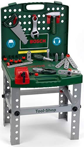 Theo Klein 8681 - Bosch Werkbank klappbar, Spielzeug