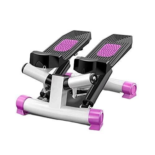 Stepper Compacto Multifunción con Pedal De Masaje Antideslizante Y Pantalla Led, Bicicleta Estática para Pérdida De Peso Y Entrenamiento De Rehabilitación, Resistencia Ajustable TDD