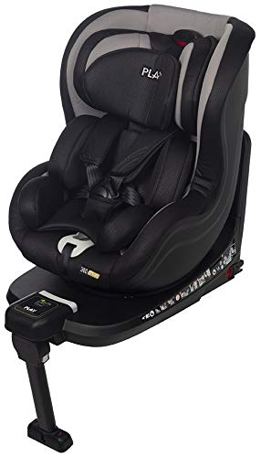 Play 360 iSize 30361 310 - Silla de coche Isize, Gris