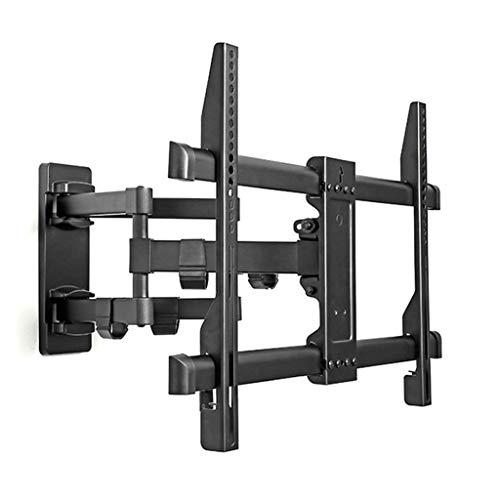 YMS Movimiento Completo retráctil LCD Soporte de Pared for TV Soporte inclinable de Pared giratoria Soporte Ajustable Brazo de Montaje apropiado for los 40-70' 50 kg máximo Apoyo Soporte de TV
