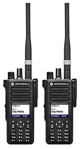 Motorola DP4800 VHF 5 W Way Radio mit Display Digital zwei und Tastatur x2 - Farm und Country Einsatz
