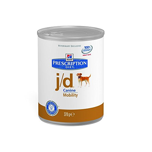 Hill's Pet Nutrition - Prescription Diet - j/d Disturbi delle articolazioni/mobilita' - Base 1 Barattolo 370,00 gr
