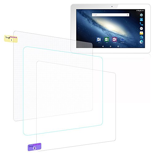 UC-Express Bildschirmschutz-Folie Odys Rise 10 / Space 10 Schutzfolie 2X klar Universal Folie