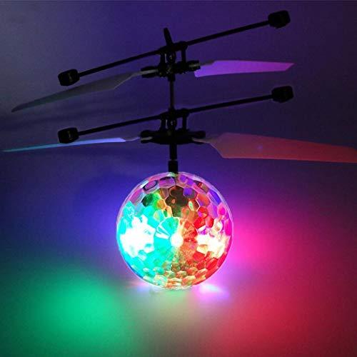 omdoxs Kids Magic Electric Flying Ball LED Intermitente luz Aviones helicóptero inducción Juguete