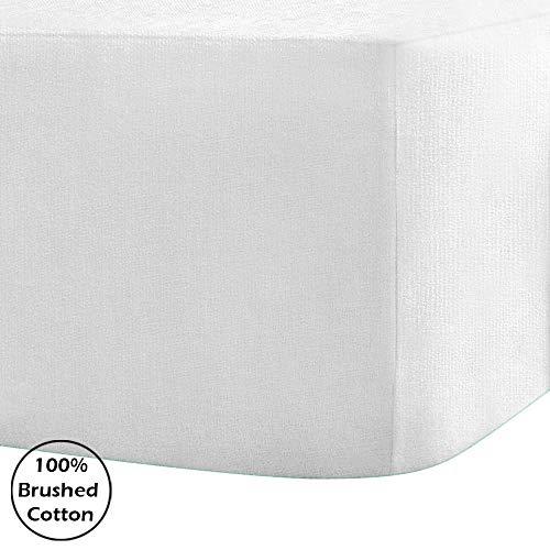 100% geborsteld katoenen flanel hoeslaken 30 cm