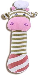 Apple Park Organic Farm Buddies piszcząca zabawka (krowa szefa)