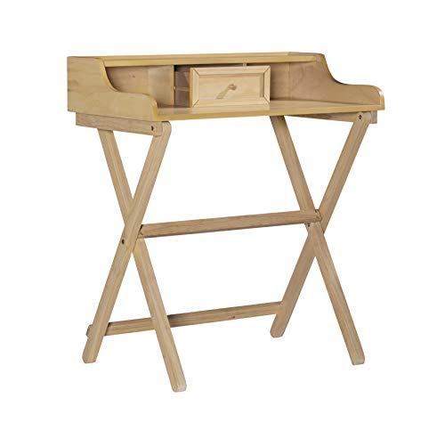 Linon Home Decor Products Linon Natural Folding Griffin Desk