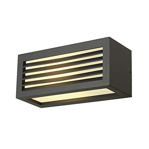 SLV 232495 BOX-L, lámpara de pared, gris antracita
