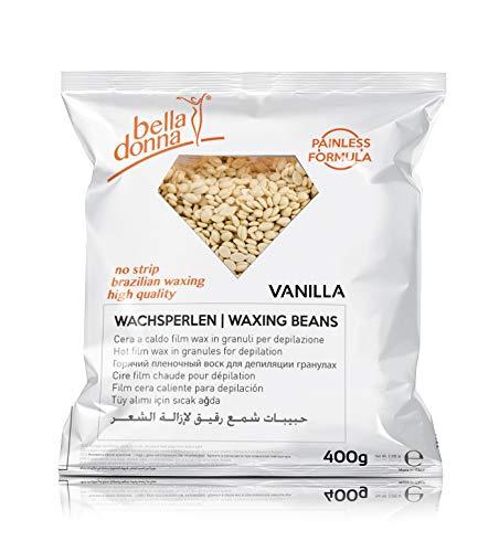 Bella Donna - Perles de cire chaude à la vanille, 400g
