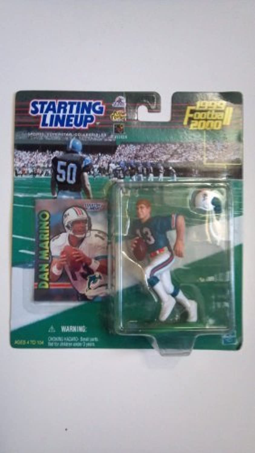 Dan Marino 19992000 Miami Dolphins  Starting Lineup Collectible Sport Action Figure by Starting Line Up