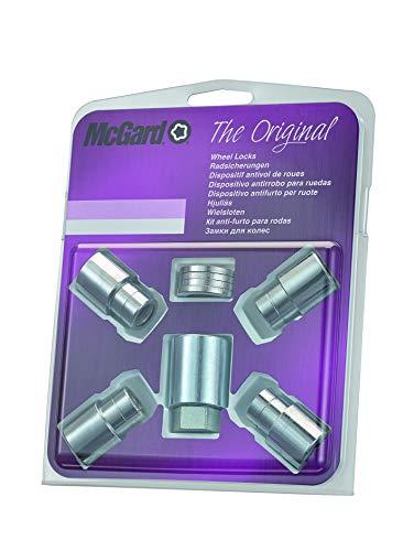 McGard 21153SU 4 écrous antivol Chrome 12x1,25/ Plat/15-35mm/ Douille 21mm
