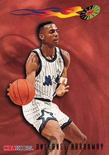 1995-96 NBA Hoops Series 2#394 Anfernee Hardaway Orlando Magic WD Official Basketball Trading Card made by SkyBox