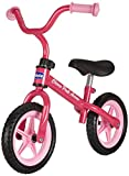 Chicco First Bike - Bicicleta sin pedales con silln regulable, color rosa, 2-5 aos