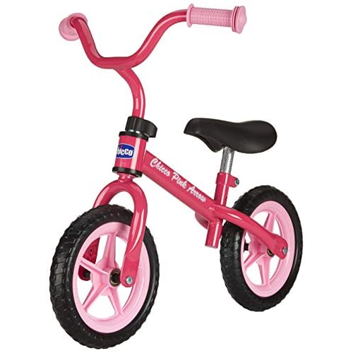 Chicco First Bike Pink Arrow Bicicletta Senza Pedali, 2-5 Anni, Rosa