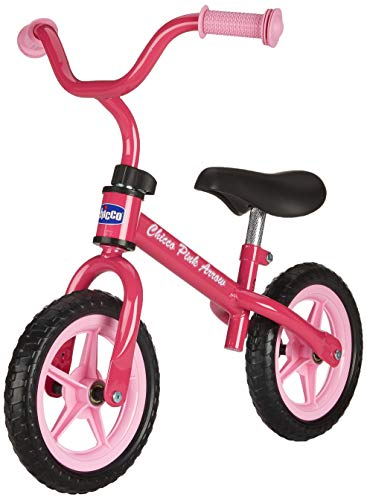 Chicco First Bike Pink Arrow Bicicletta Senza Pedali, 2-5 Anni, Rosa