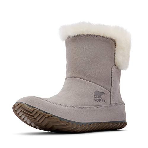 Sorel Women's Out N About Bootie - Casual - Chrome Grey, Natural - Size 10.5