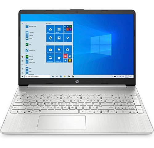 "HP 15s-fq1090ns - Ordenador portátil de 15.6"" FullHD (Intel Core i7-1065G7, 8GB RAM, 512GB SSD, Intel Iris Plus, Windows 10 Home) plata - Teclado QWERTY Español"