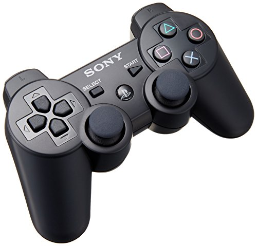 Sony 9489658 Wireless Dual Shock 3 Contrôleur Black Manette