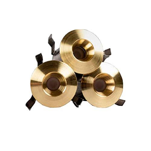Hidealite PRO Gold - Lámpara de techo led (0,66 W, 6 unidades)