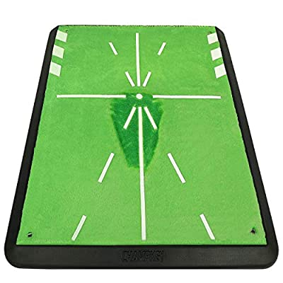 """Champkey 13"""" 17"""" Tracker-PRO Impact Golf Hitting Mat -Upgrad Structures, Traces, Analysis & Correct Your Swing Path"""
