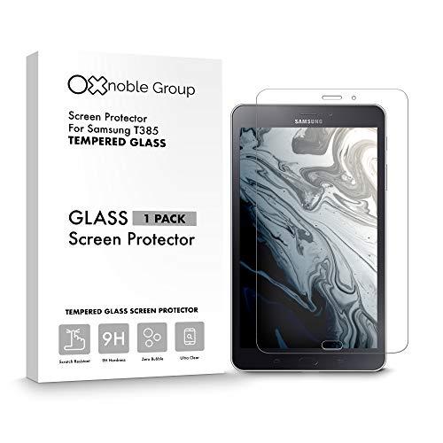 Oxnoble - Protector de pantalla de cristal para Samsung T385 Galaxy Tab A 8.0 (2017)