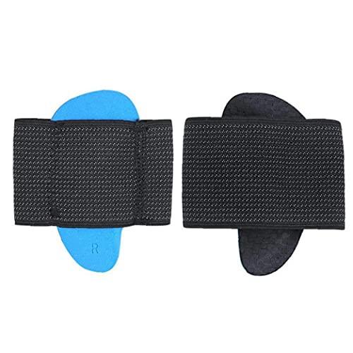 Foot Korrigering Insoles hålfotsinlägg Pads Inläggsulor ortopediska Support Sulor för Flat Foot Correction hög båge Dämpning Foot Health Care för Män Kvinnor