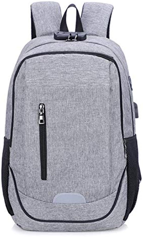9d361e4051af Backpack Travel Bjzxz USB Bag Backpack Laptop Computer Business ...