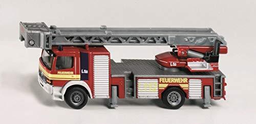 SIKU Feuerwehrdrehleiter L 11,5 x B 2,8 x H 3,8 cm, 1:87 (1841)