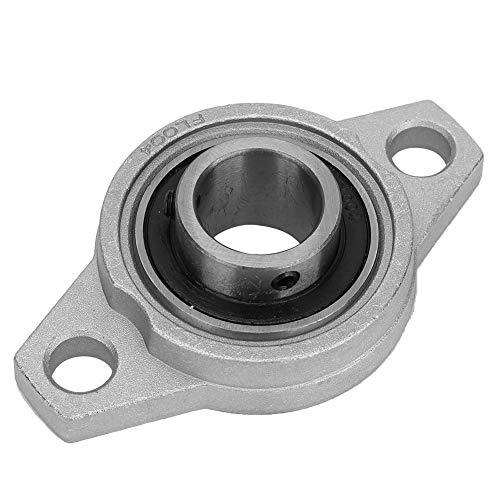 Rodamientos Rómbicos De Brida Rodamiento Montado De Aleación De Aluminio De Zinc, Rodamiento Autoalineable De Bloque De Cojinete 20mm / 0.8in