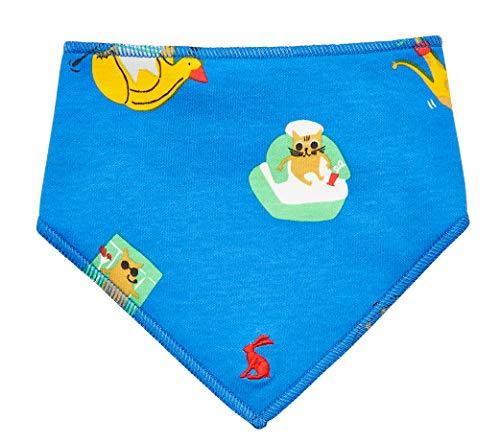 joules Reversible Baby Dribble Lätzchen - Sea Fun - Sea Fun Dribble Bib