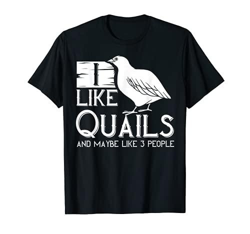 Huevos de pájaro de codorniz Gambel Cage Animal Camiseta