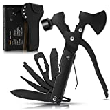 Multitool Camping Accessories Survival Gear and Equipment 16 in 1 Hatchet with Knife Axe H...