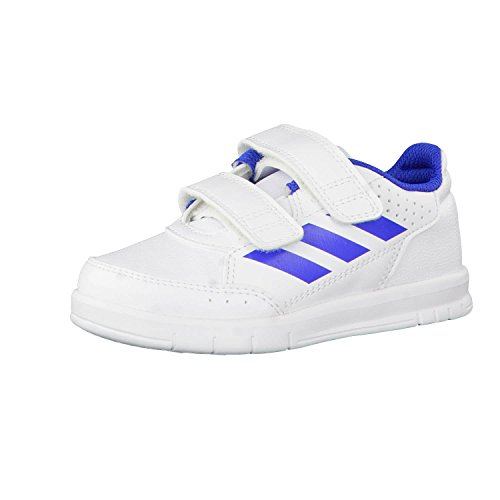 Adidas Unisex-Kinder AltaSport CF Fitnessschuhe, Weiß (Ftwbla/Azul/Ftwbla 000), 34 EU