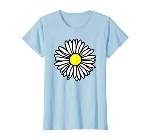 Damen Blumen, Blüten, Maßliebchen, Gänseblümchen, Frauen T-Shirt