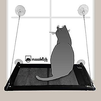Hamac pour Chat Mausblick pour fenêtre, lit/couchette pour Chat, Pratique au-Dessus du Rebord de fenêtre