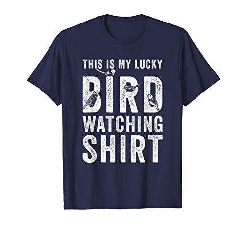 This Is My Lucky Bird Watching Shirt Gift Birding Bird T-Shirt