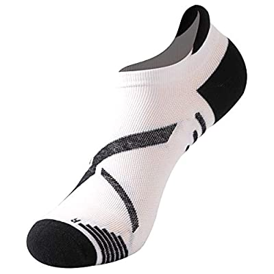 Running Socks, Gmark Unisex Ultimate Dry Cotton Athletic Ankle Socks 1,3,6 Pairs